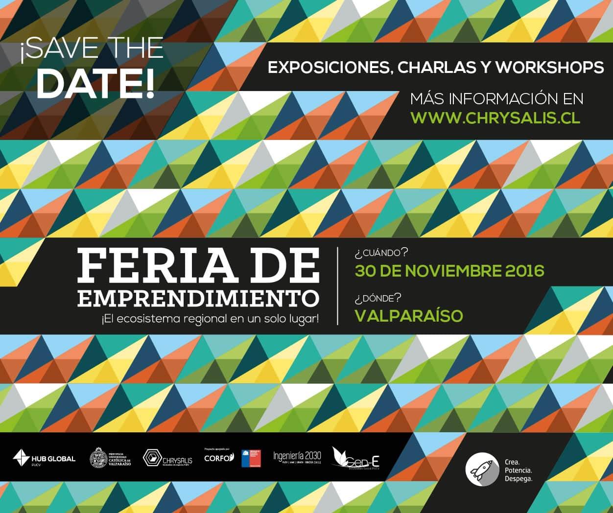 El 30 de noviembre se realizará una feria de emprendimiento gratuita en Valparaíso.