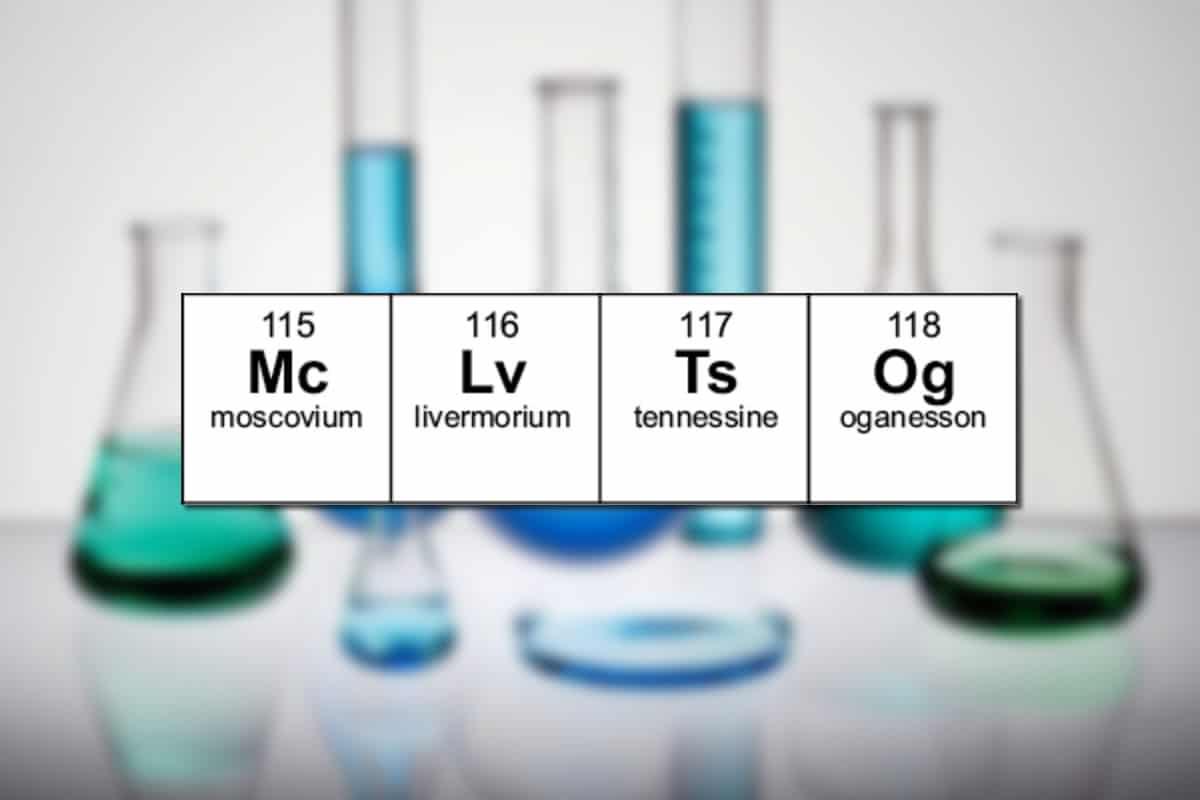 Estos son los nombres de los 4 nuevos elementos de la tabla peridica urtaz Gallery