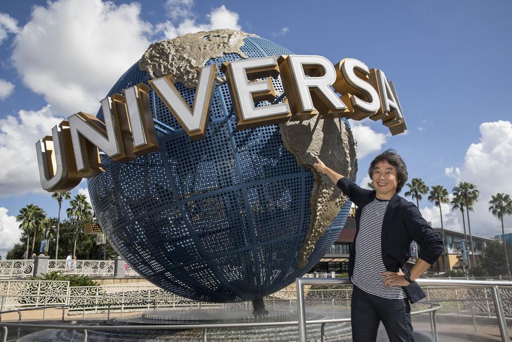 Shigeru Miyamoto fue uno de los protagonistas en el anuncio de Nintendo con Universal.