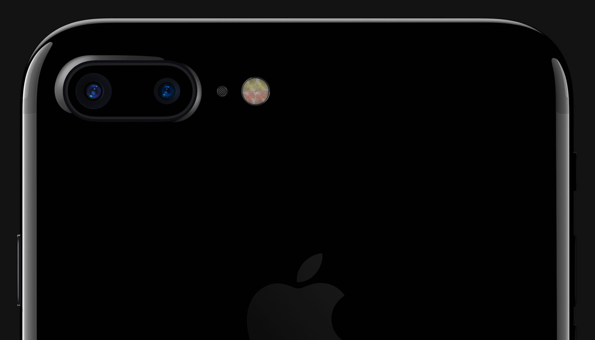 El iPhone 7 Plus viene con dos cámaras.