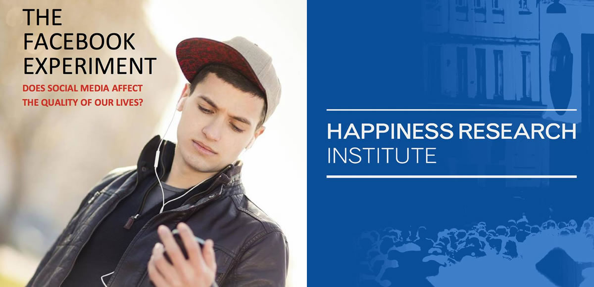 The Happiness Research Institute realizó este estudio en torno a Facebook.