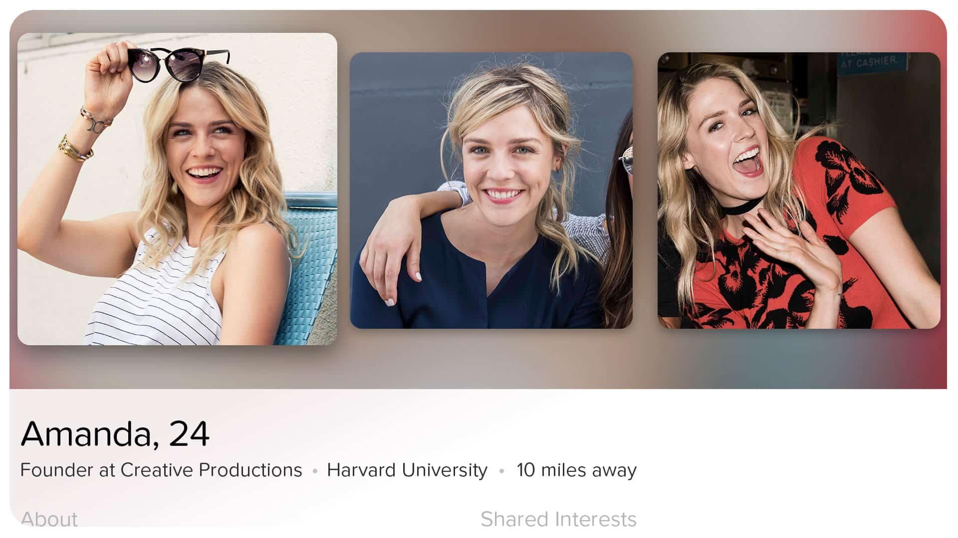 Tinder en Apple TV.