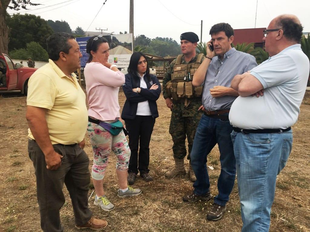 Chile: Los equipos se entregaron a los Comité Operativos de Emergencia regionales.