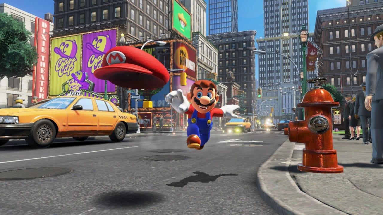 Super Mario Odyssey en Nintendo Switch.