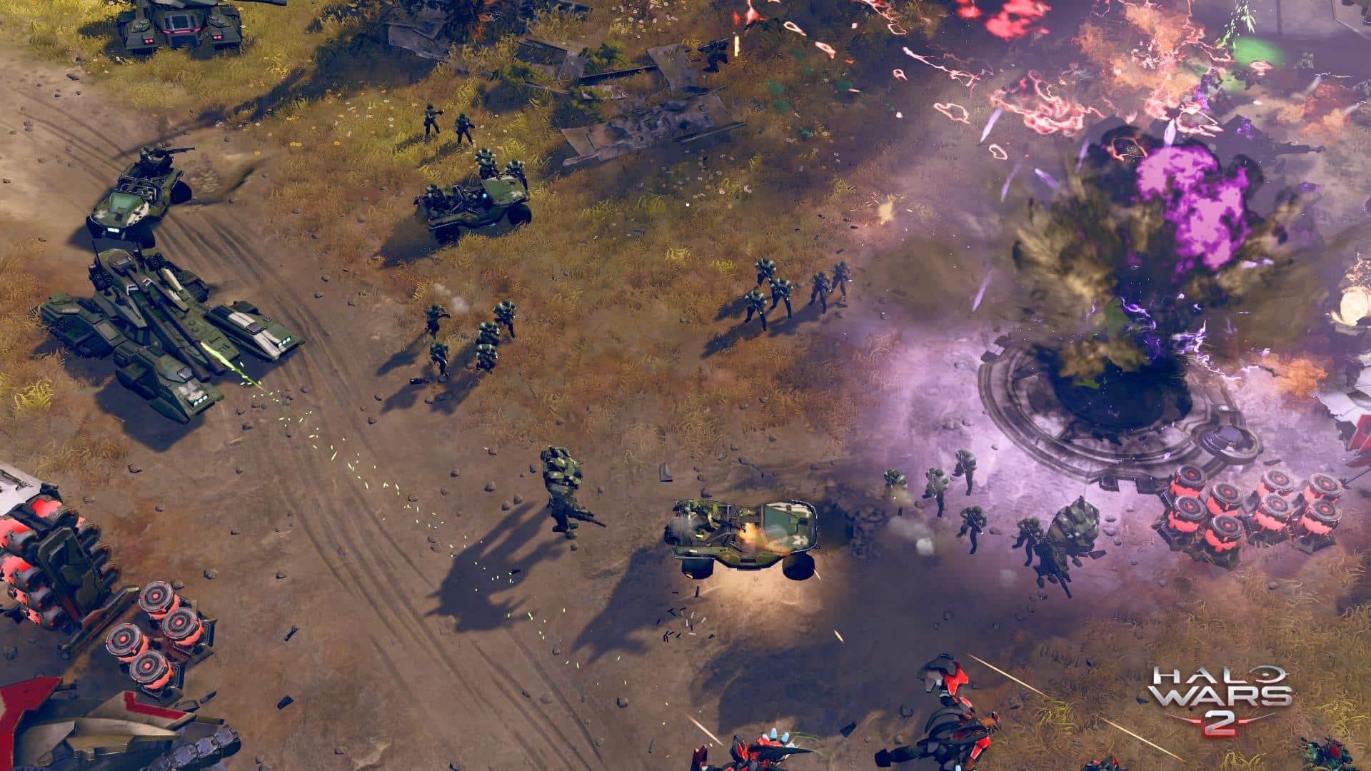 Gameplay de Halo Wars 2.