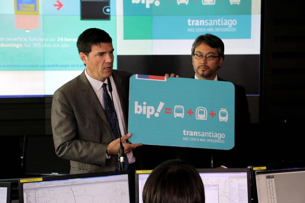 Ministerio de Transportes y Telecomunicaciones presentó el nuevo diseño de la Tarjeta Bip!