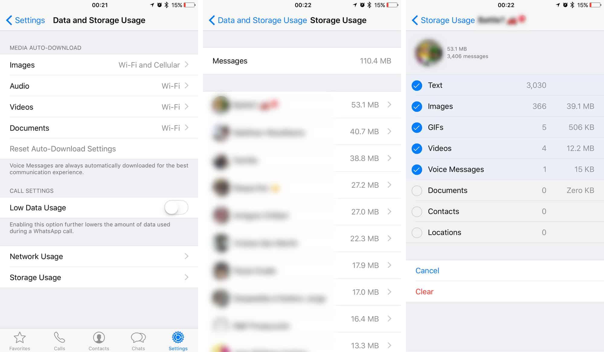 Una de las nuevas herramientas de WhatsApp te permite borrar fotos o videos por persona.