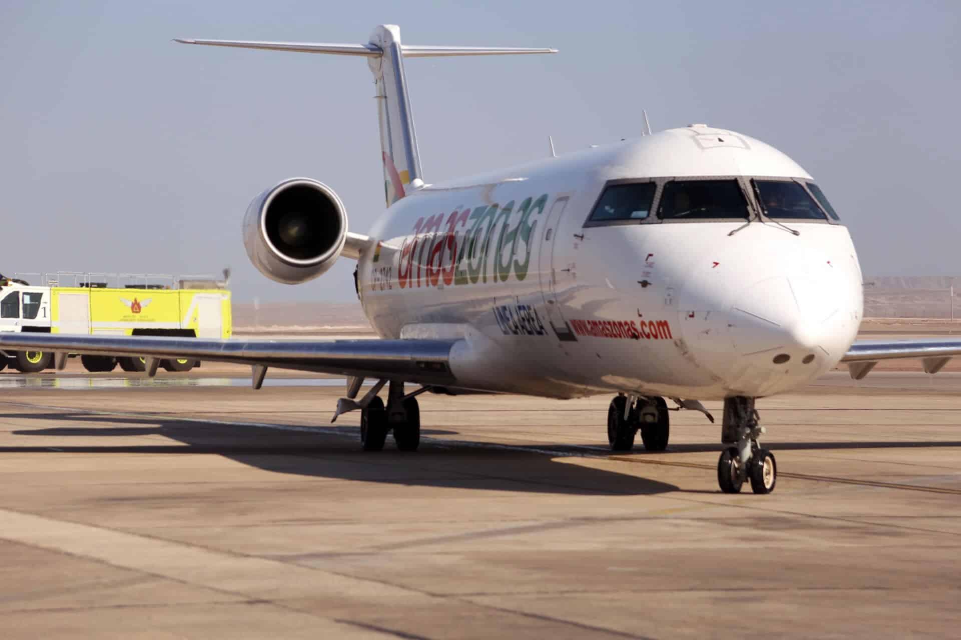 Aerolinea Amaszonas.