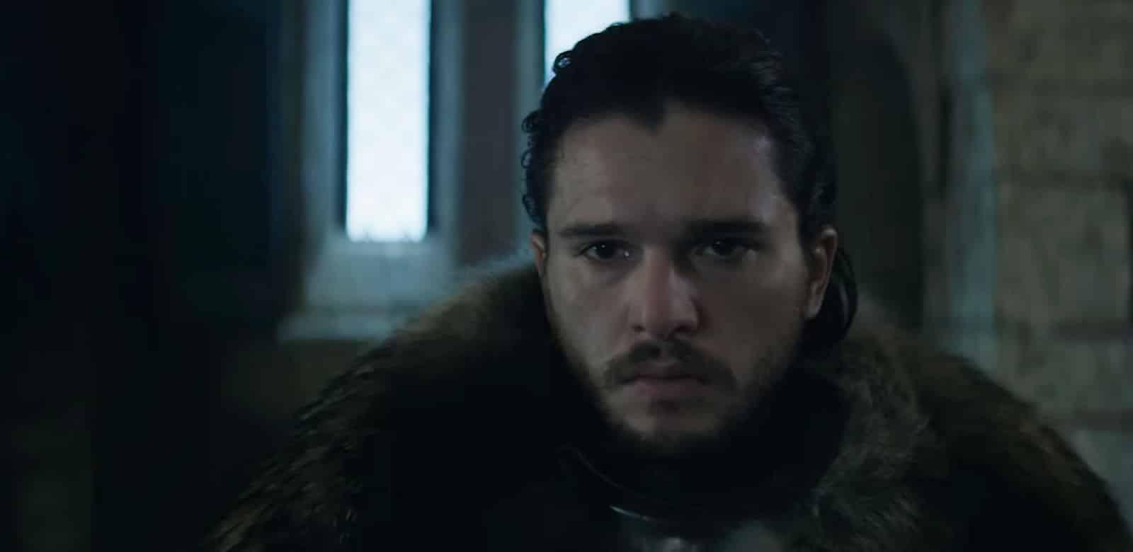 Jon Snow en la nueva promoción de Game of Thrones.