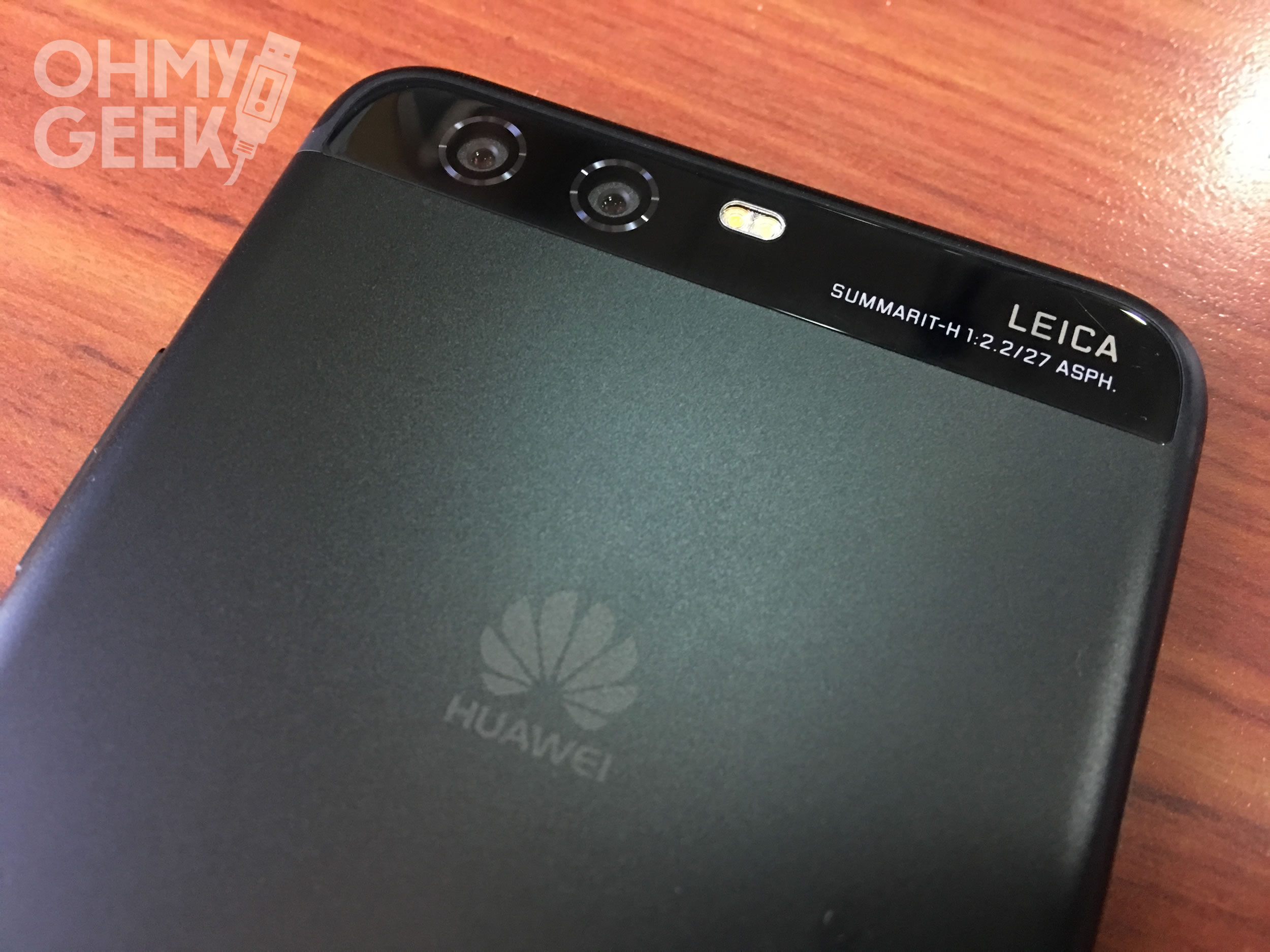 Doble cámara del Huawei P10.