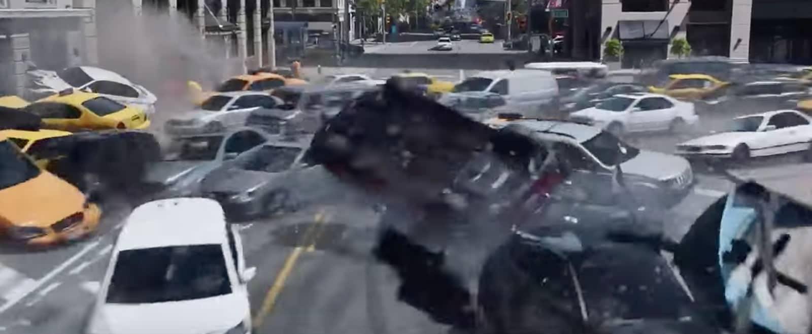 Parte del segundo trailer de The Fate of the Furious.