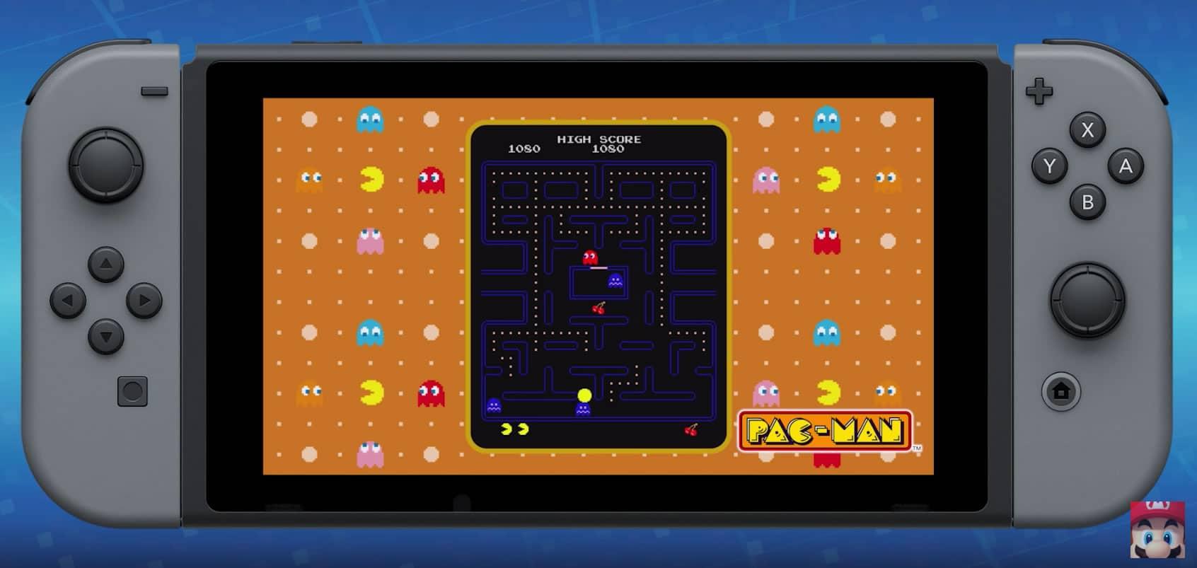 Namco Museum: PAC-MAN en Nintendo Switch.