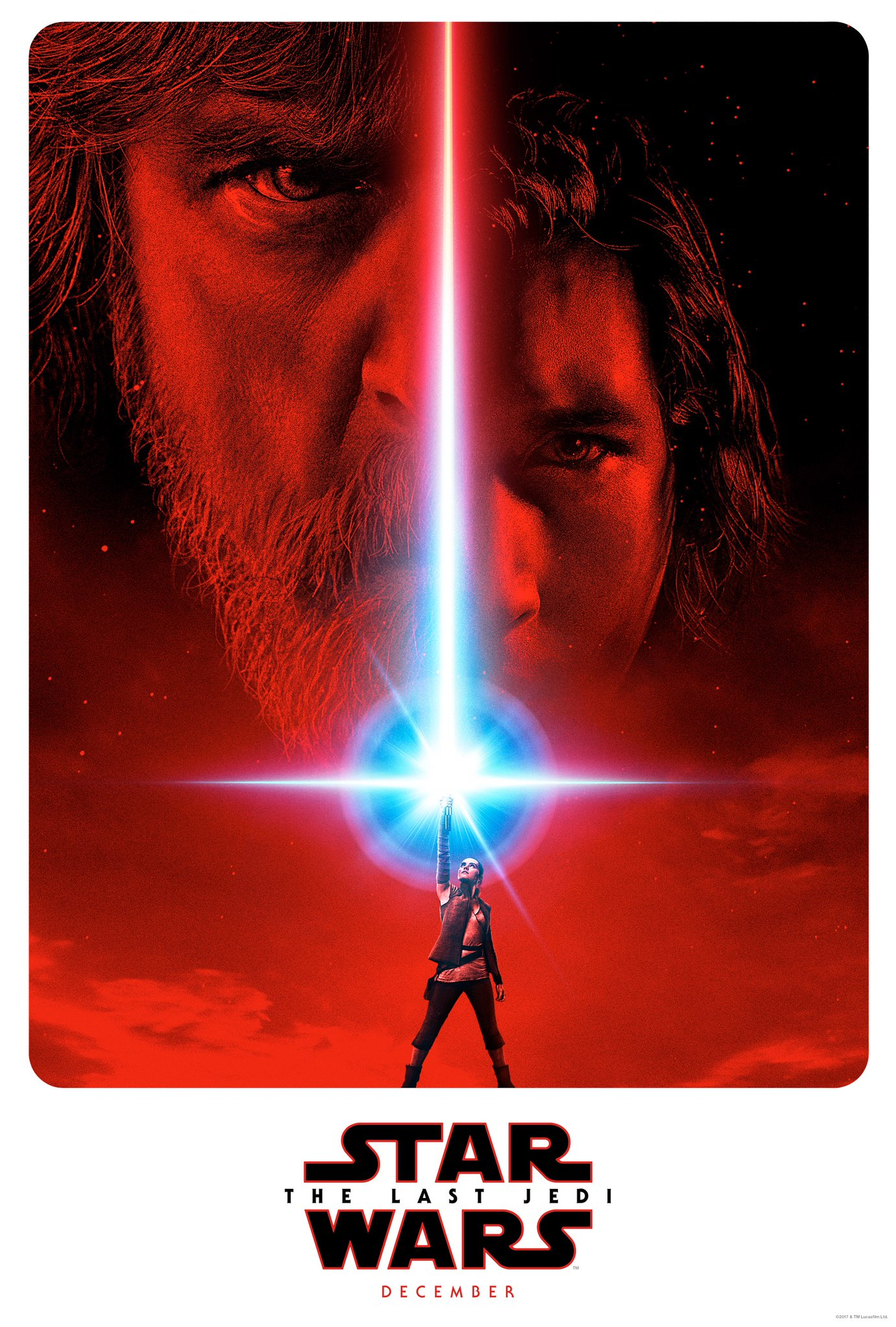 Póster de Star Wars: The Last Jedi.