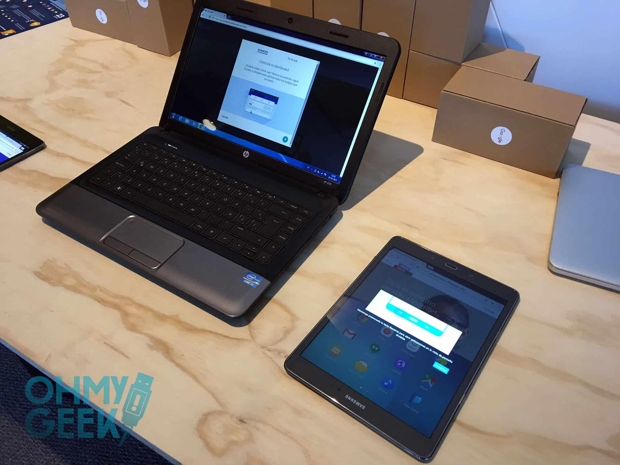 Garage Digital se puede hacer en equipos de escritorio o móviles.