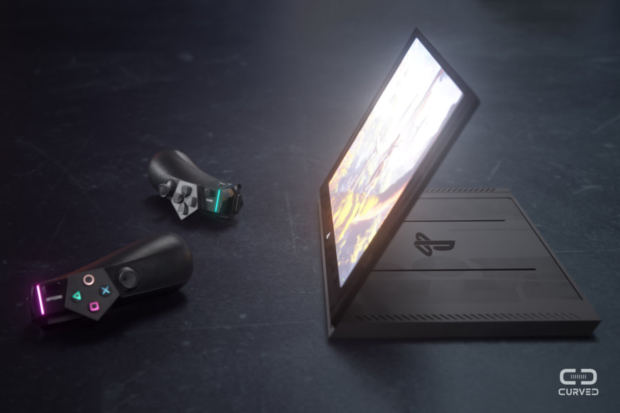 Concepto visual de Sony Playman.