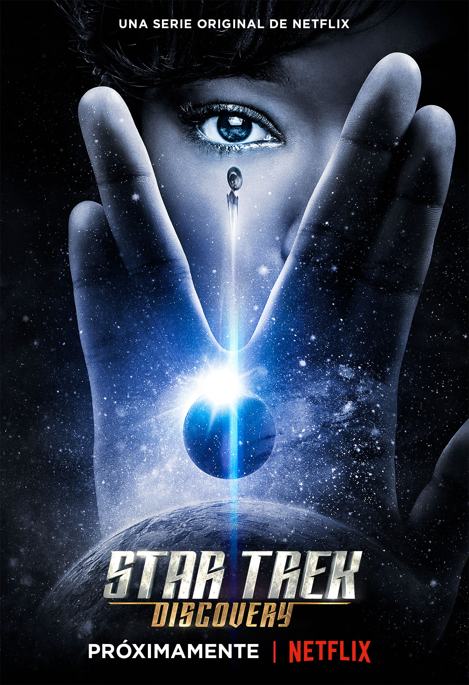 Star Trek: Discovery - Póster oficial.