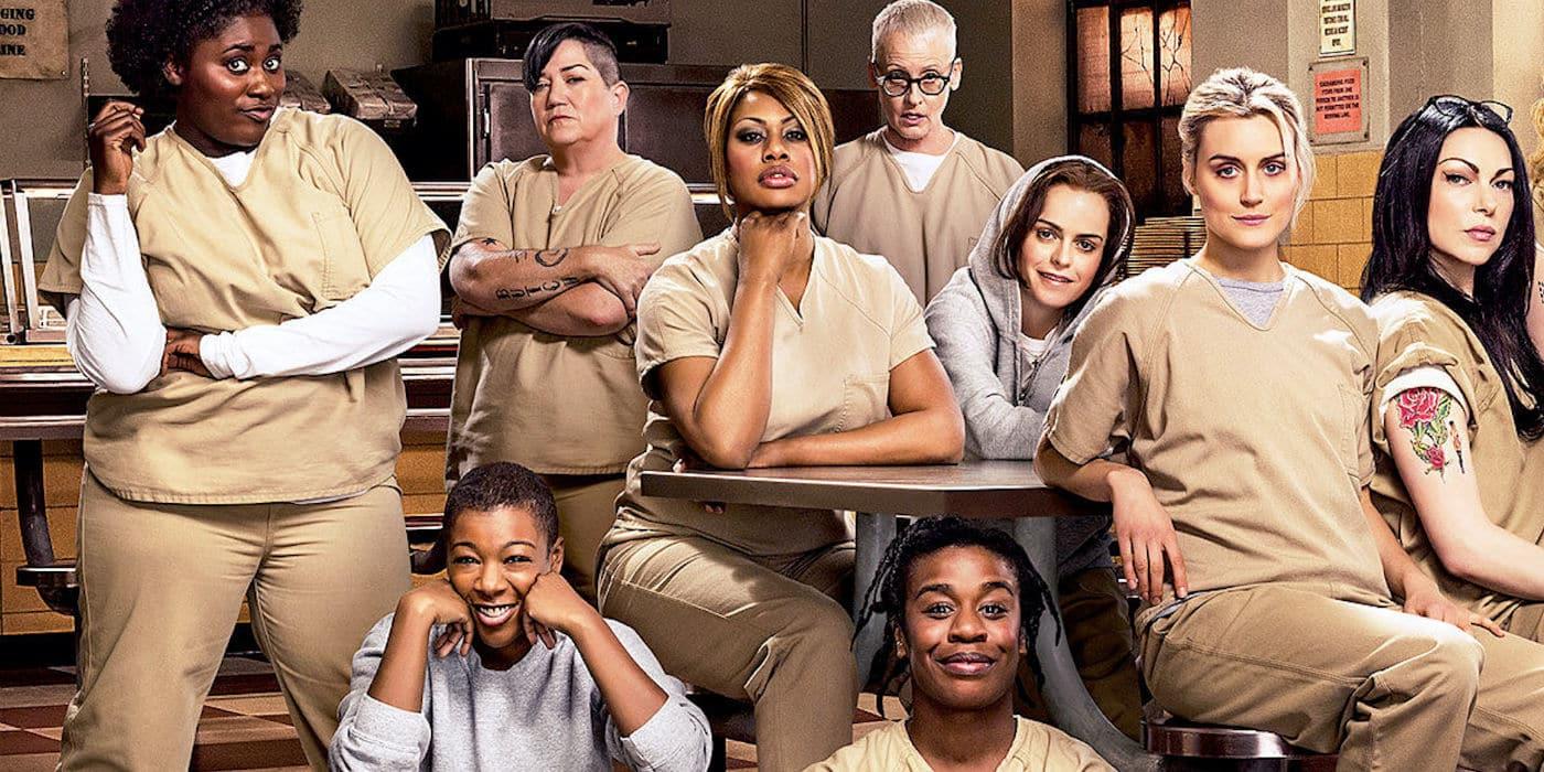 Orange is the New Black - Netflix.