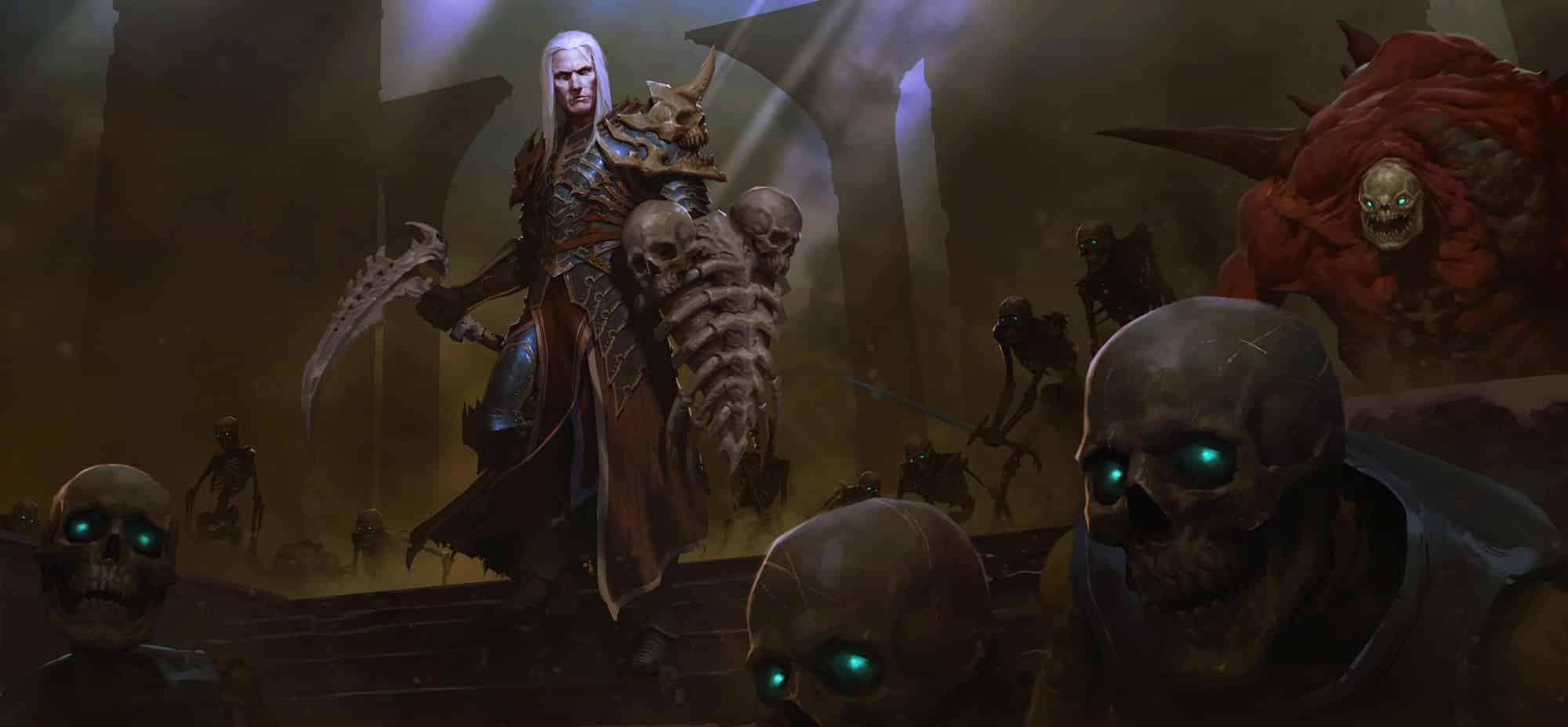 Nigromante de Diablo III.