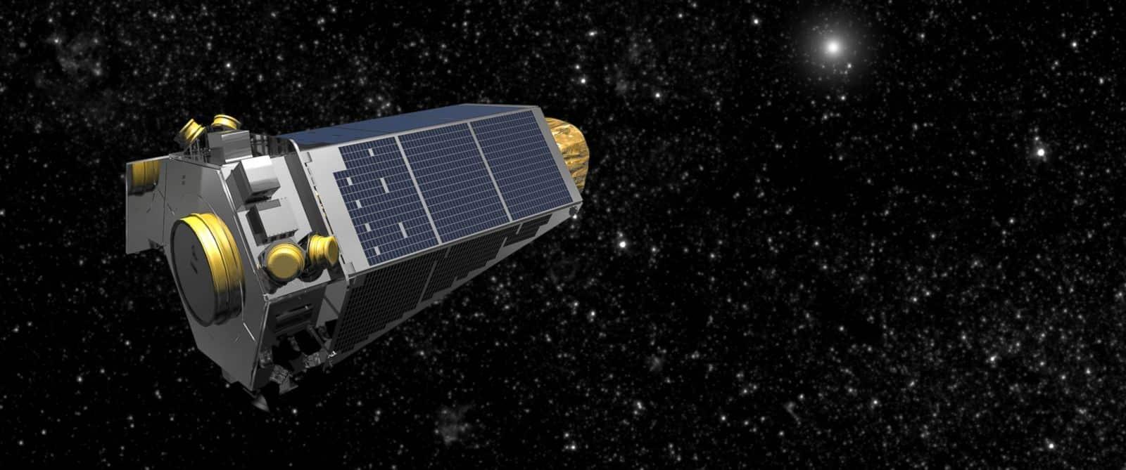 Telescopio Kepler de la NASA.