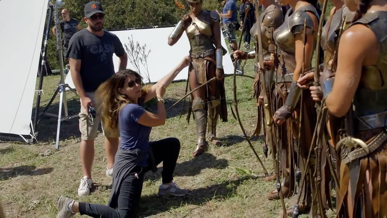 Wonder Woman: Patty Jenkins dirigiendo.