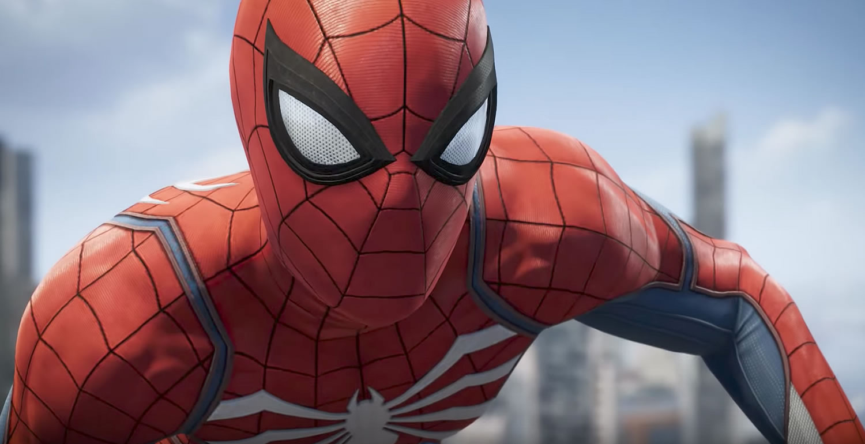 Render de Spider-Man en PlayStation 4.