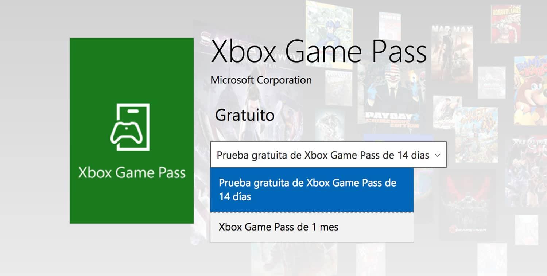 Xbox Game Pass puede probarse gratis por 14 días (una sola vez).