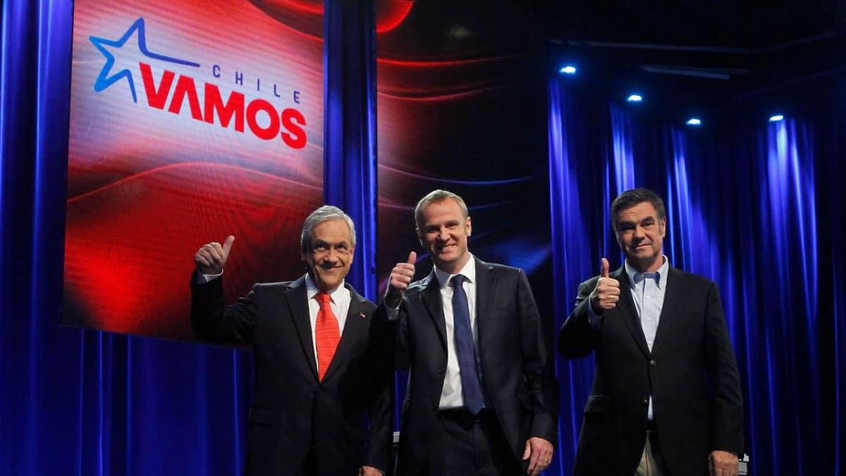 El debate de los precandidatos de Chile Vamos, demostró la negativa interacción online.