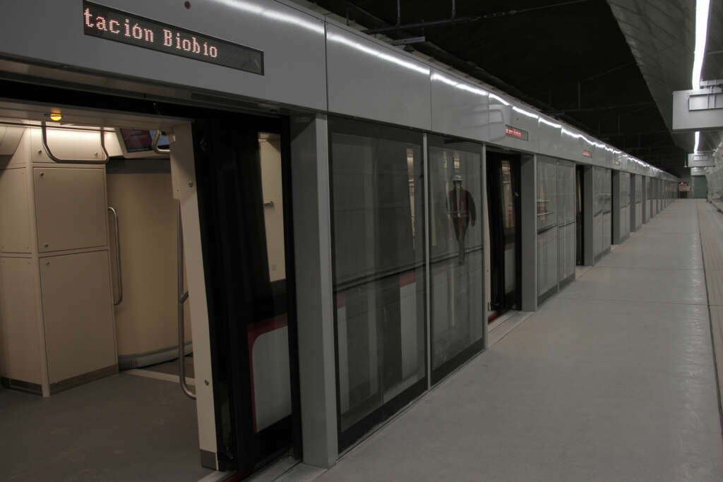 La nueva línea 6 tendrá puertas en el Andén.