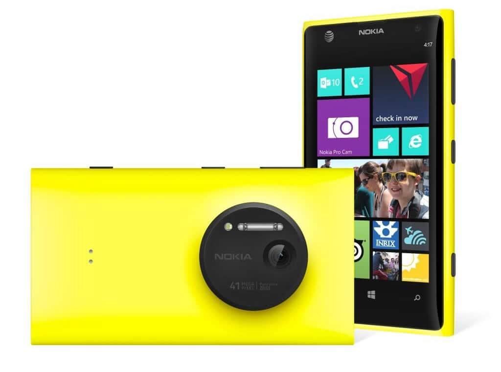 Nokia Lumia 1020 fue uno de los grandes teléfonos con Windows Phone.