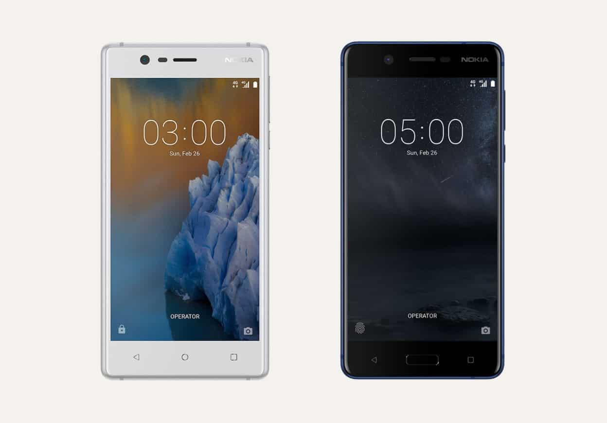 Nokia 3 y Nokia 5.