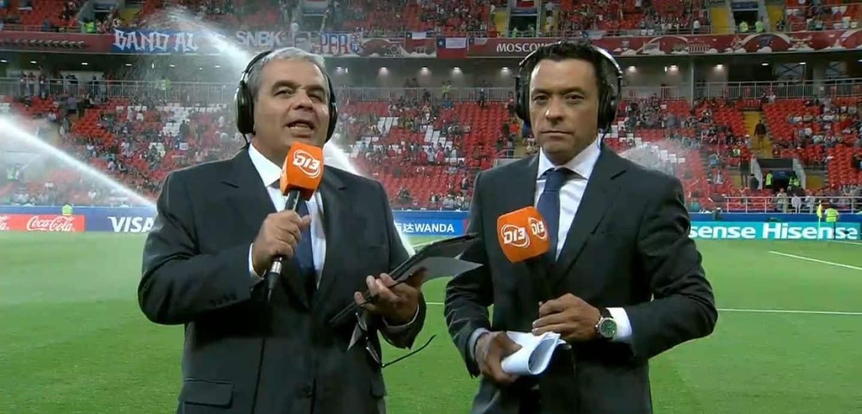 Aldo Schiappacasse (izquierda) y Claudio Palma (derecha).
