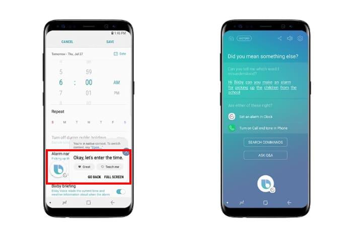 Bixby te permite controlar una App o función de tu equipo Samsung.