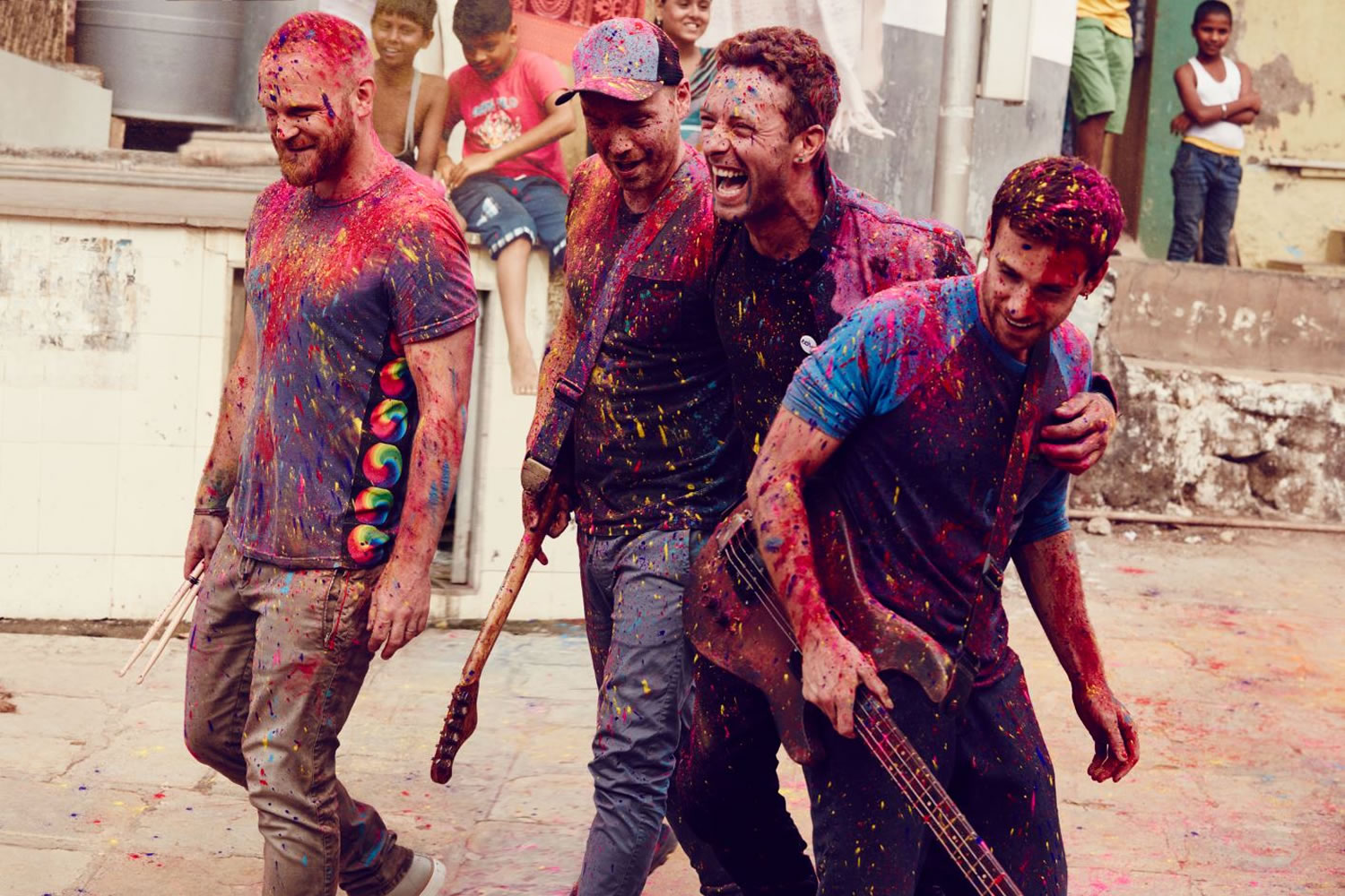 El show de Coldplay arranca a las 22:30 hrs. (Chile).