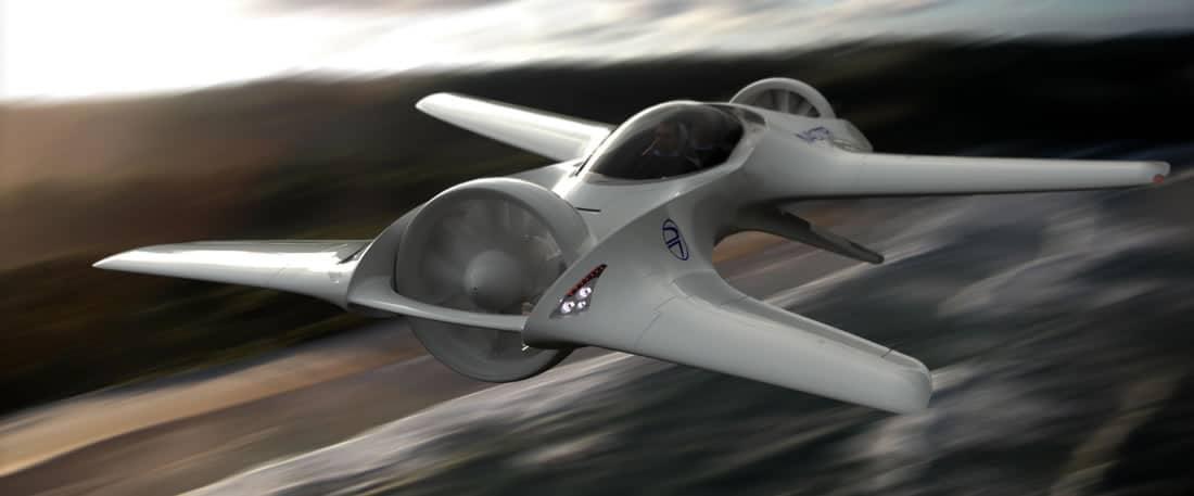 DeLorean Aerospace DR-7 VTOL.