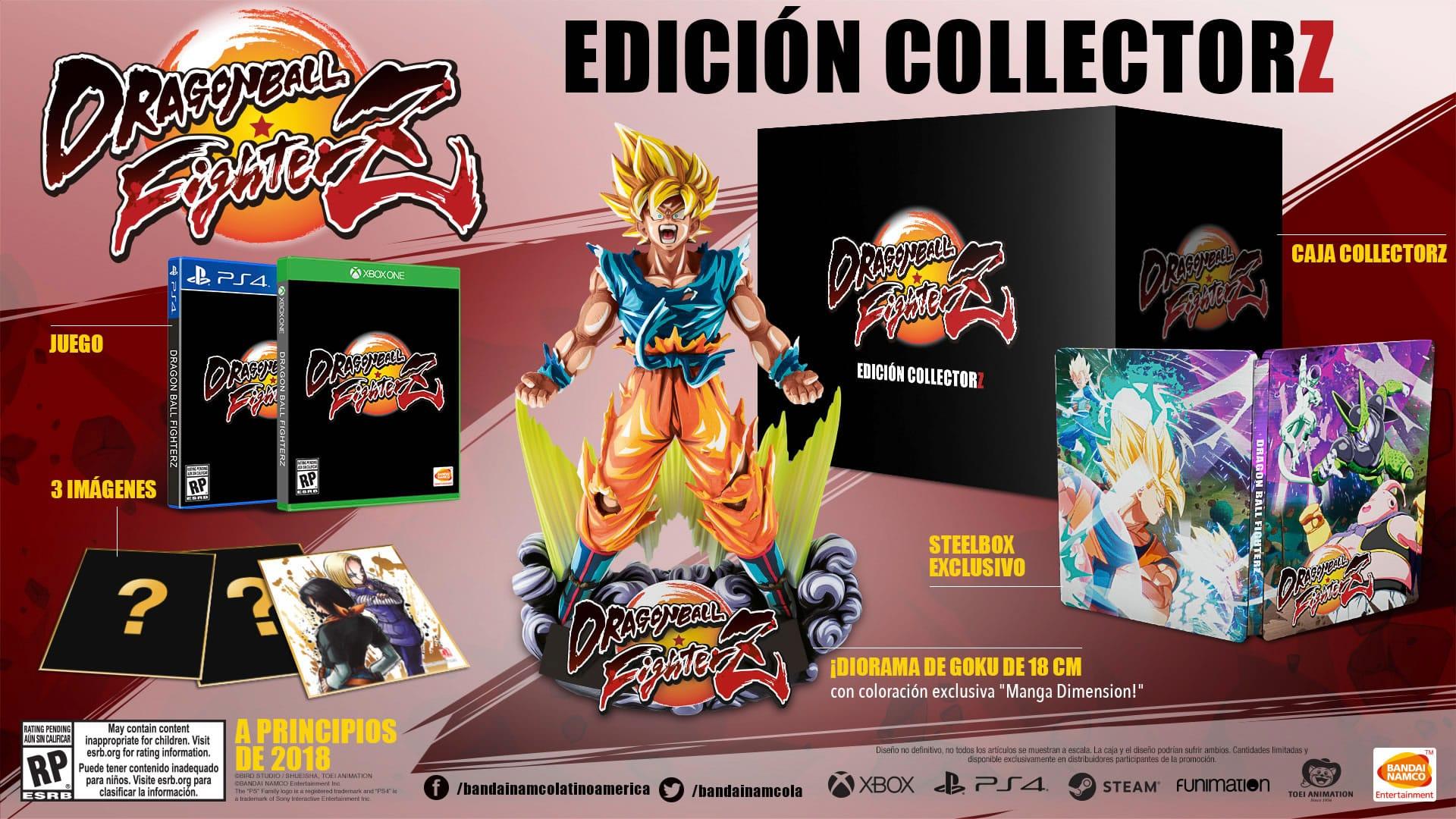 Dragon Ball FighterZ Coleccionista