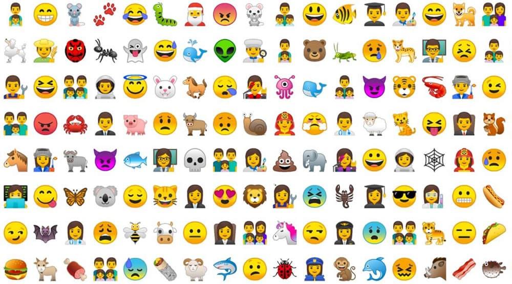 Emojis en Android 8.0 Oreo.