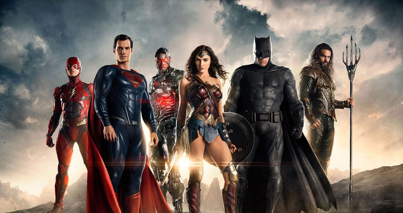 Justice League (Liga de la Justicia) con Ben Affleck.