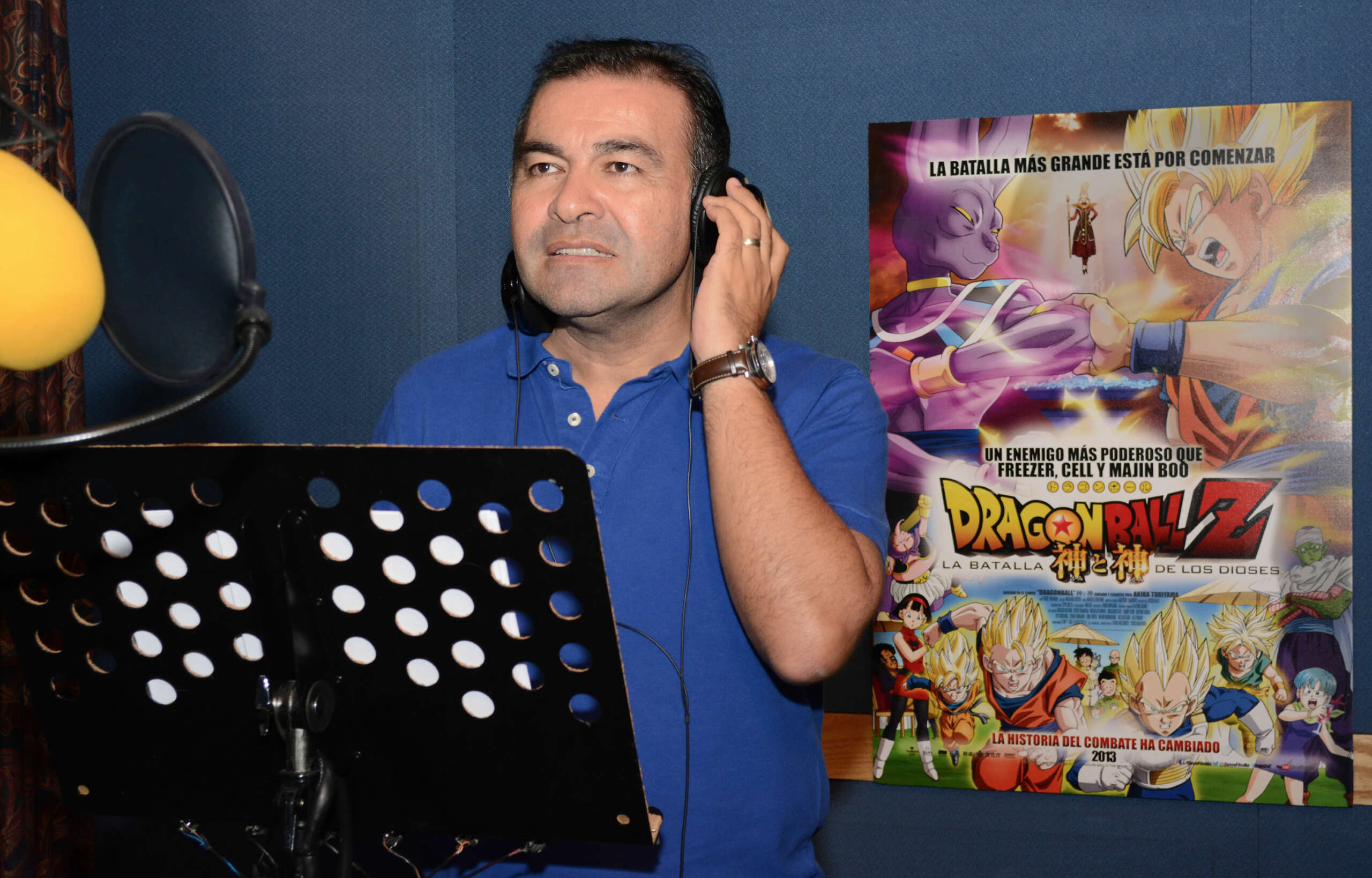 Dragon Ball Super: Mario Castañeda será nuevamente la voz de Gokú.