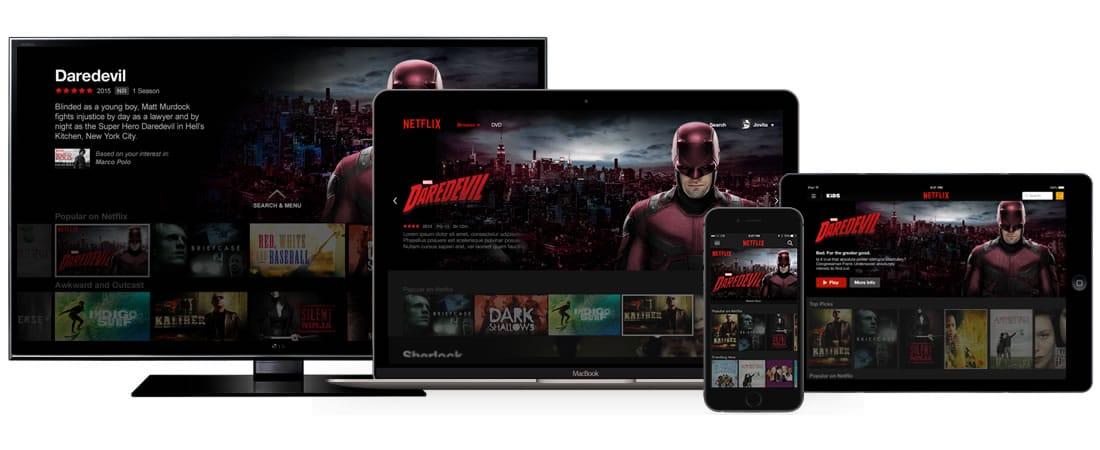 Netflix premium permite streaming simultáneo.