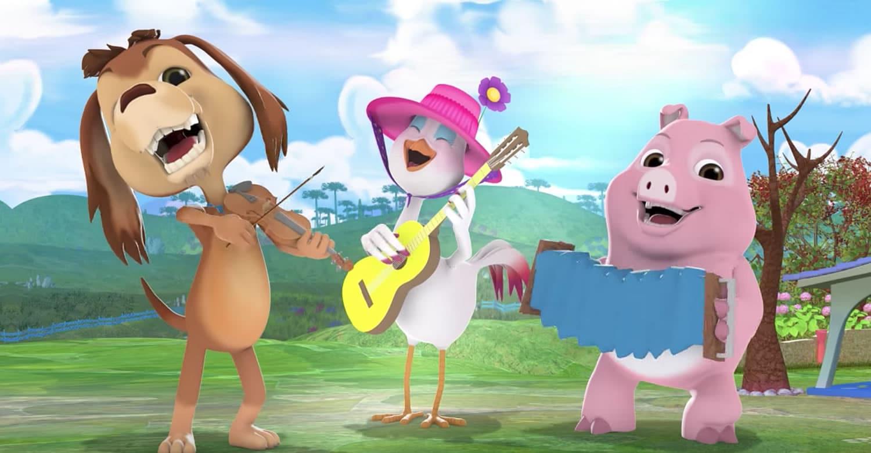 """""""Perro Chocolo"""", una de las estrellas chilenas en YouTube Kids."""