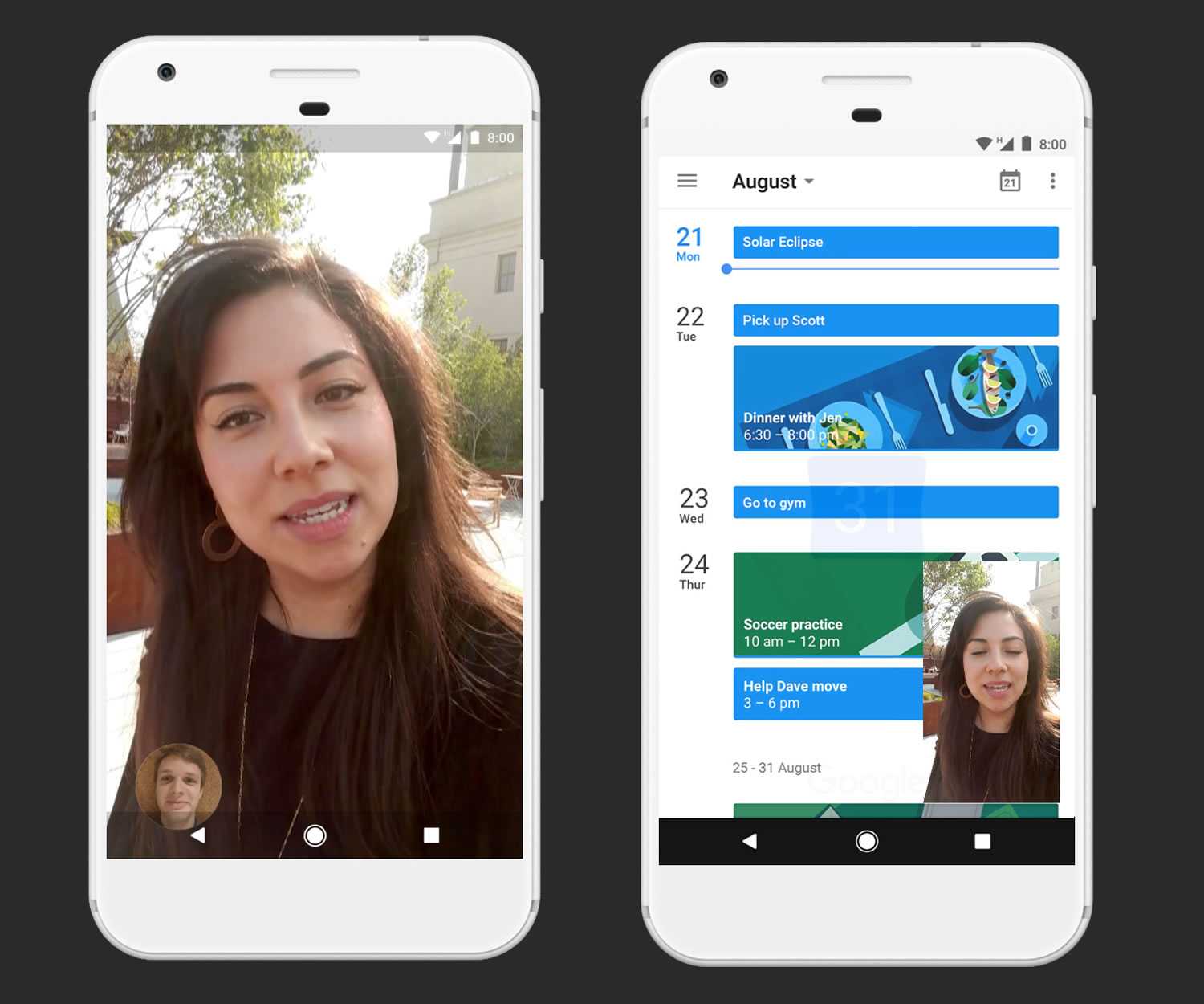Picture-In-Picture en Android 8.0.