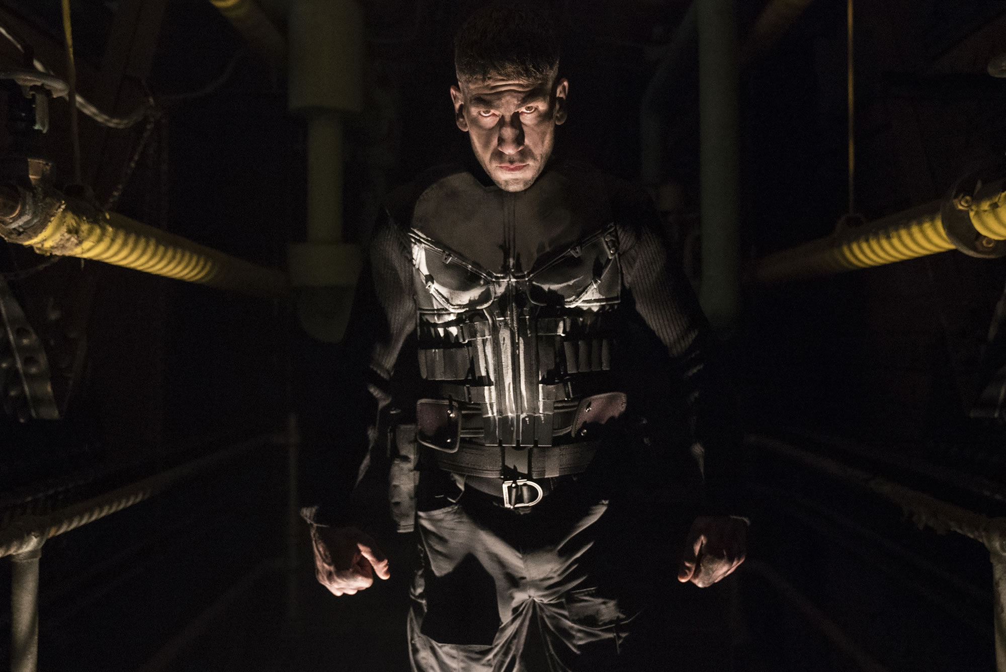 Jon Bernthal como The Punisher.