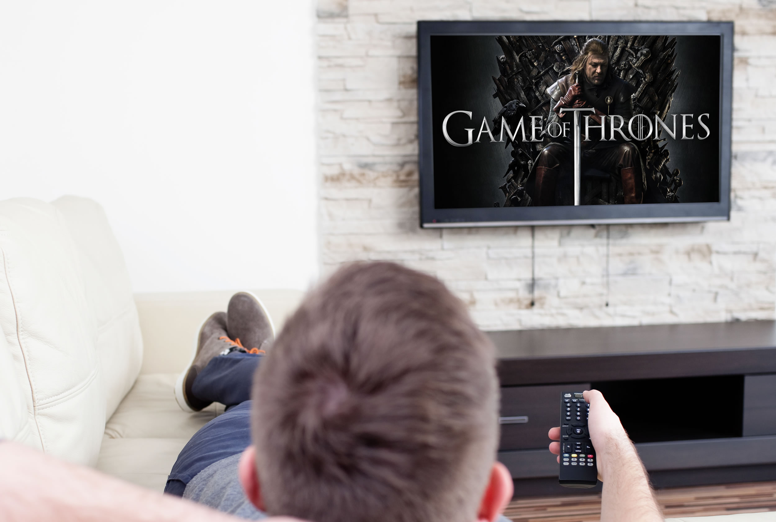 Game of Thrones de HBO.