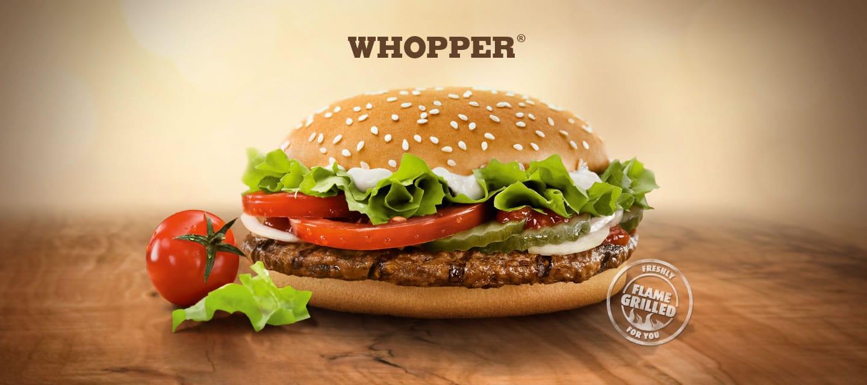 1.700 WhopperCoins para tener otro Whopper en Burger King.