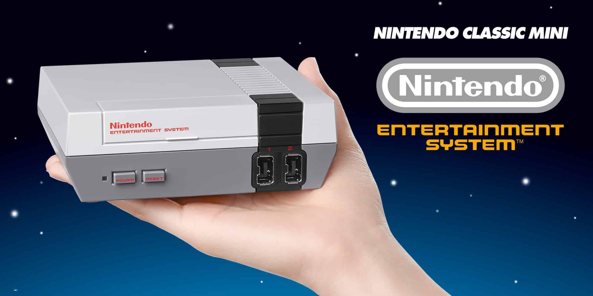 Nintendo y Super Nintendo Edición Clásica.