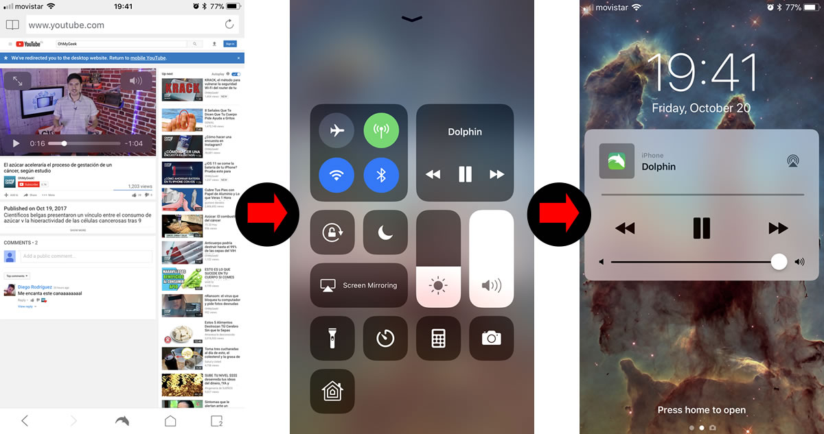 Cómo escuchar un video de YouTube con la pantalla apagada en tu iPhone o Android