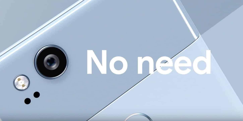 Los 3 'trolleos' directos de Google al iPhone en el video del Pixel 2.