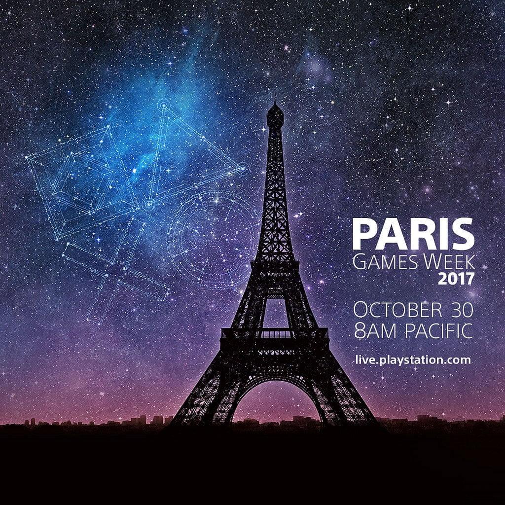 Mira por streaming la presentación de PlayStation en Paris Games Week