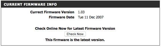 Como ejemplo: estando en 2017, tengo un router con un último update en 2007.