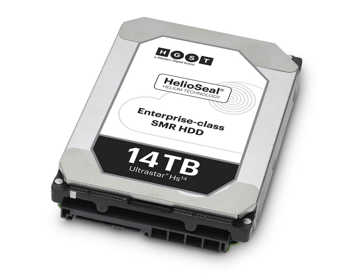 HGST presenta el primer disco duro de 14TB de almacenamiento.